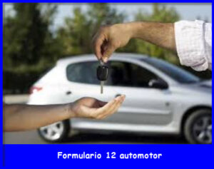Formulario 12 Automotor