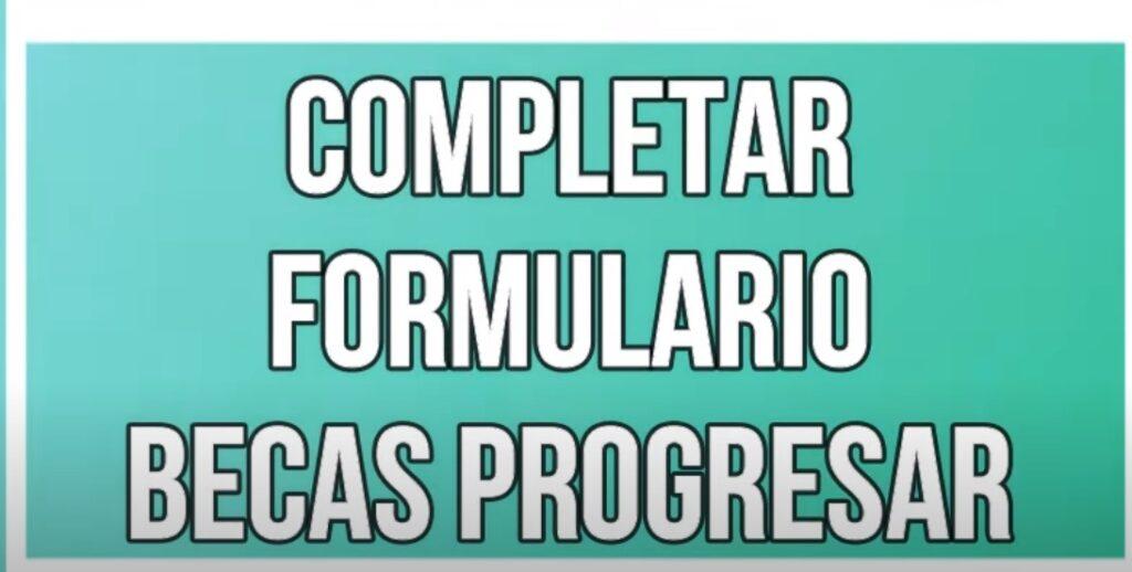 Formulario 2.87 Becas Progresar